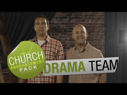 CHURCH ANNOUNCEMENT DRAMA TEAM