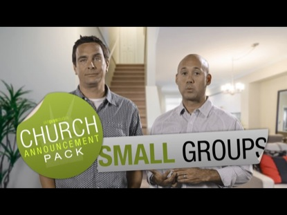CHURCH ANNOUNCEMENT SMALL GROUPS