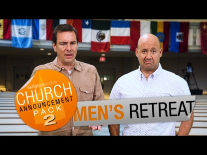 CHURCH PACK 2: MEN'S RETREAT SKIT GUYS