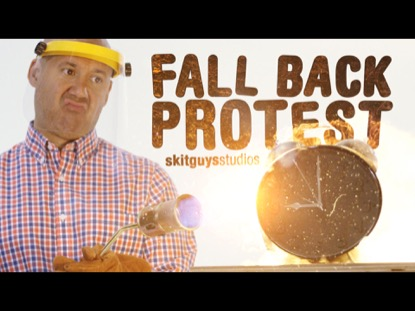 FALL BACK PROTEST: SKIT GUYS