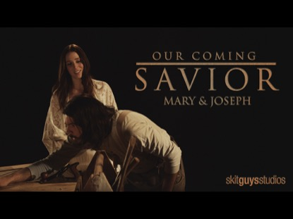 OUR COMING SAVIOR:MARY AND JOSEPH