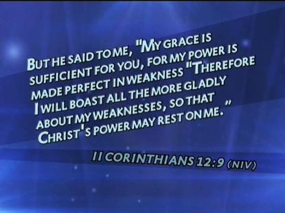 2 CORINTHIANS 12:9 NIV