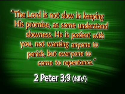 2 PETER 3:9 NIV