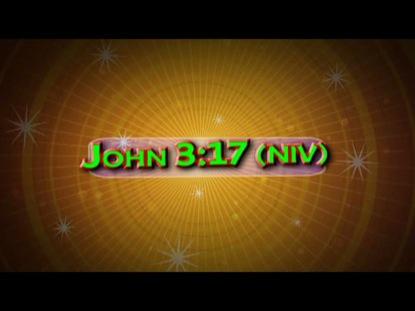JOHN 3:17 NIV