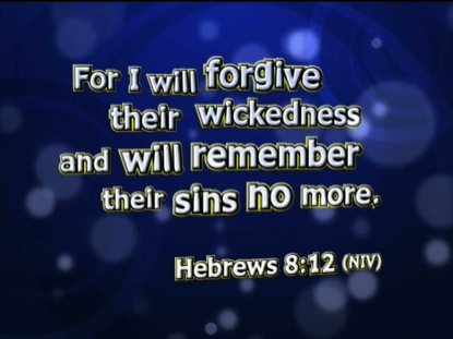 SO GOOD TO ME HEBREWS 8:12 NIV