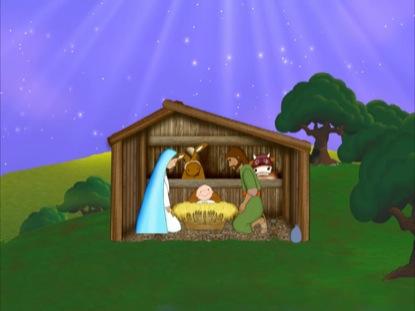 The Christmas Story | Cherub Wings | Kids Videos | WorshipHouse Kids