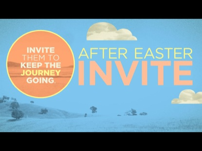 AFTER EASTER INVITE