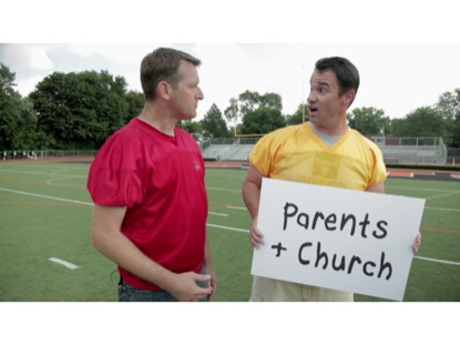 PARENTS AND CHURCH TEAMWORK