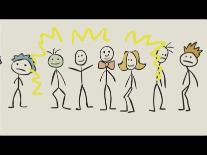 STICK FIGURE BIBLE  STORY DANIEL AND FRIENDS