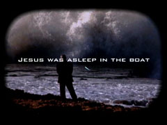 JESUS CALMS THE STORM
