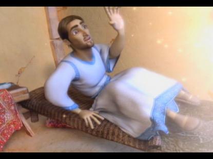 AN ANGEL VISITS JOSEPH