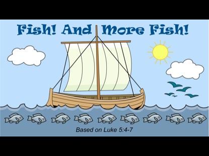 TINY BIBLE TREASURES 2 - FISH AND MORE FISH