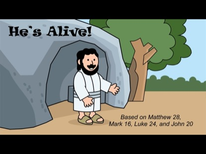 TINY BIBLE TREASURES 6 - HE'S ALIVE