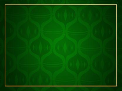 ORNAMENT PATTERN - GREEN