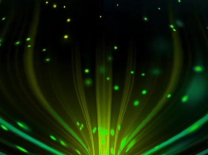 PARTICLE BEAM GREEN