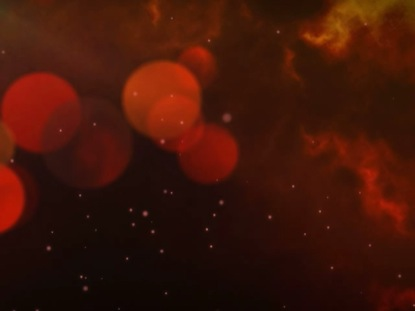 PARTICLE ORB FIERY RED