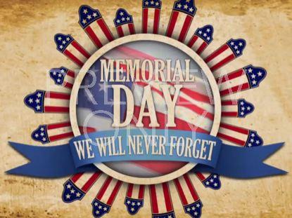 PATRIOTIC MEMORIAL DAY STILL