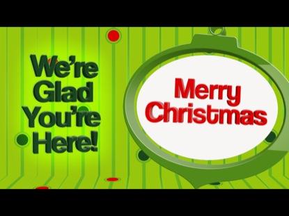 SIMPLE CHRISTMAS WELCOME