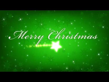 CHRISTMAS WELCOME GREEN