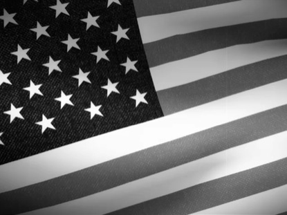 BLACK AND WHITE FLAG LOOP 1