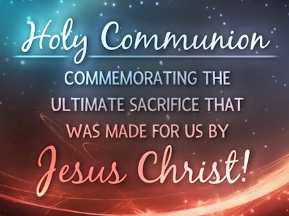 HOLY COMMUNION MOTION 3