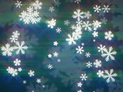 SNOWFALL BLUE