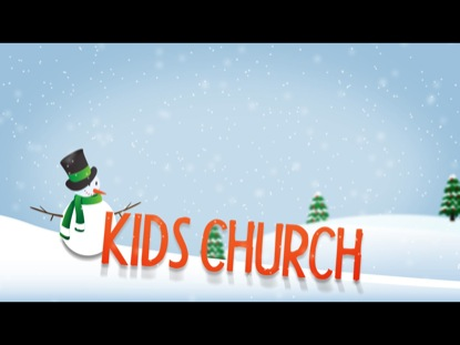 Preview for WINTER TITLE SLIDE KIDS CHURCH