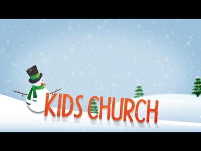 WINTER TITLE SLIDE KIDS CHURCH