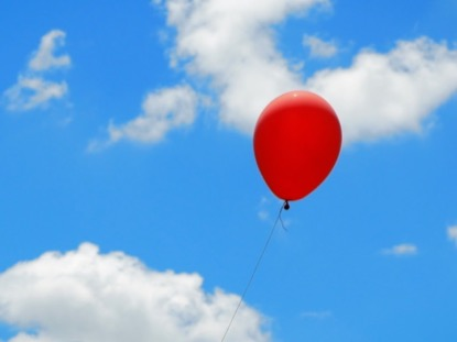BALLOON AND SKY CINEMAGRAPH