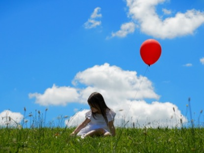 CHILD WITH BALLOON CINEMAGRAPH