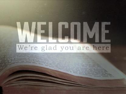 OPEN BIBLE WELCOME LOOP