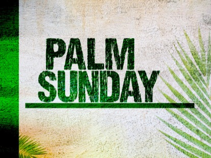 PALM SUNDAY 02: TITLE MOTION