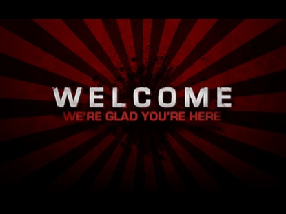 RED BURST WELCOME LOOP