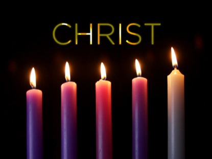 ADVENT FIVE CHRIST