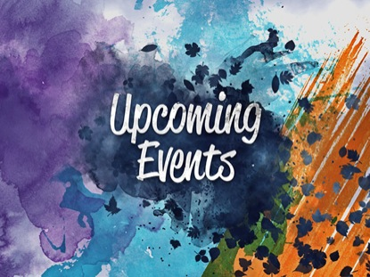 AUTUMN WATERCOLOR UPCOMING EVENTS