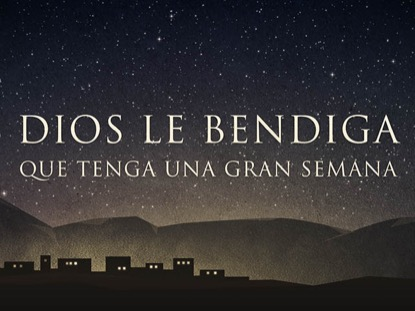 BETHLEHEM DIOS LE BENDIGA