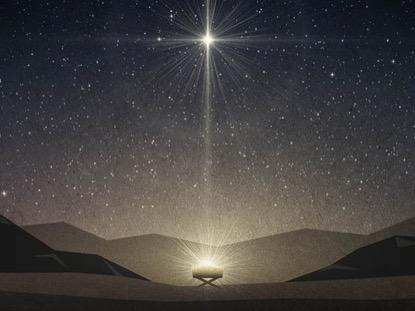 BETHLEHEM MANGER AND STAR