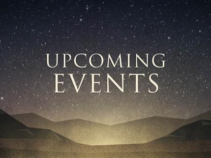 BETHLEHEM UPCOMING EVENTS