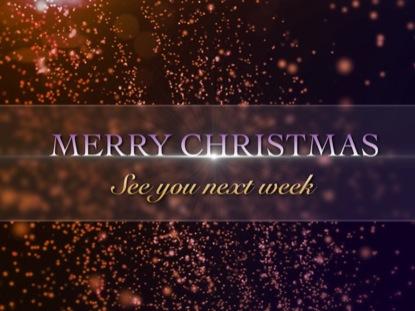CHRISTMAS GOODBYE
