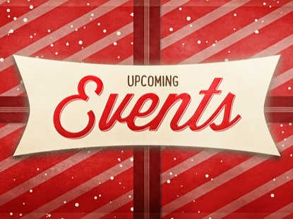 CHRISTMAS SCRAPBOOK EVENTS