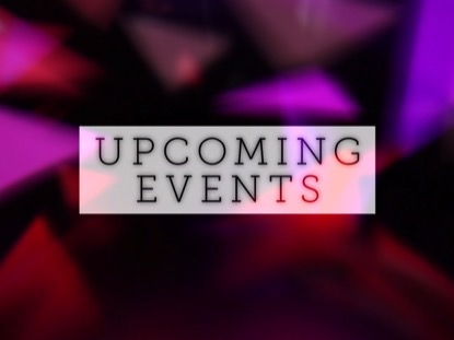 COLORFUL TRIANGLES UPCOMING EVENTS