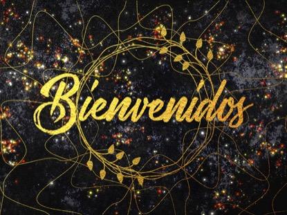 GLITTER GOLD BIENVENIDOS