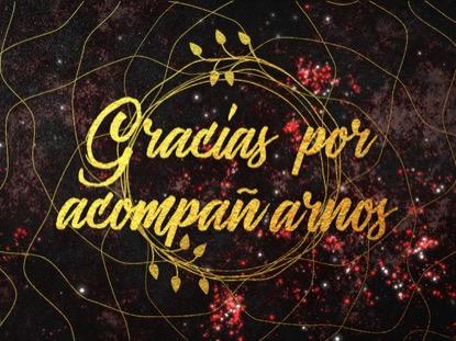 GLITTER GOLD GRACIAS POR ACOMPANARNOS