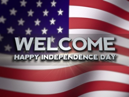 HAPPY INDEPENDENCE DAY WELCOME