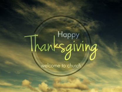 HAPPY THANKSGIVING MODERN