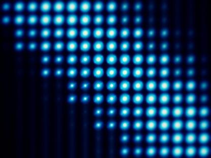 LIGHT WALL BLOOM BLUE