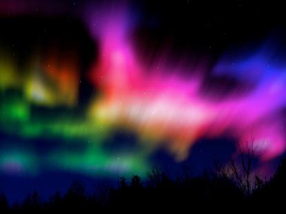 NORTHERN LIGHTS RAINBOW