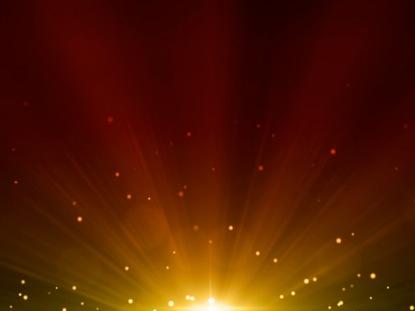 ORANGE LIGHT BURST
