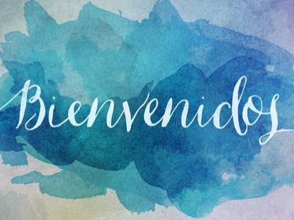 SPRING WATERCOLOR BIENVENIDO