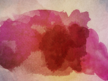 SPRING WATERCOLOR FUCHSIA